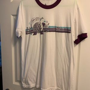 EPCOT T-shirt: classic attractions LIKE NEW